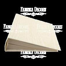 Заготовка альбома Текстура дерева - сосна 20x20см, Фабрика Декора