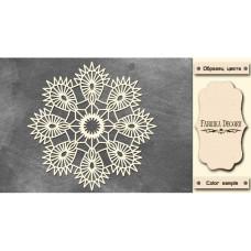 Набор чипбордов, цвет крафт-милк, 15х15 см, FDCH-231, ТМ Фабрика Декора
