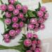 Букет ягодок, сахарный, розовый, 12 шт, 10 мм