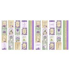 Набор полос с картинками для декорирования Lavender Provence, Фабрика Декору