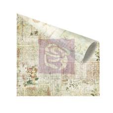 Двусторонняя бумага для скрапбукинга Meeting a Fairy - Nature Garden от Prima