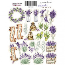 Набор наклеек (стикеров) #056, Lavender Provence, Фабрика Декору