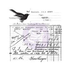 Акриловый штамп Old Receipt - Prima