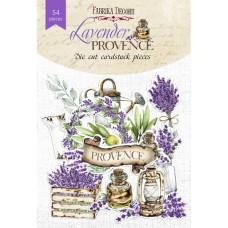 Набор высечек, коллекция Lavender provence, 54шт, Фабрика Декору