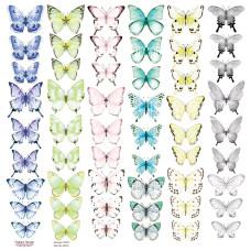 Лист с картинками для вырезания Бабочки-3, Фабрика Декору