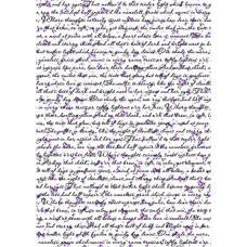 Оверлей Письмо с лавандой, Фабрика Декору