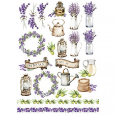 Оверлей Lavender Provence-1, Фабрика Декору