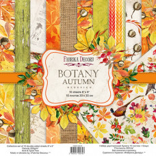 Набор скрапбумаги Botany autumn redesign 20x20см, Фабрика Декору