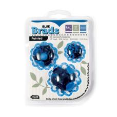 Брадсы  Basic Brads Painted - Blue от We R Memory Keepers