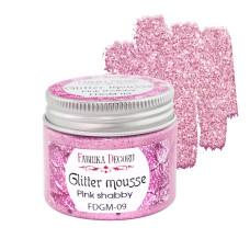 Глиттерный мусс, цвет Розовый шебби, 50 мл, Фабрика Декору
