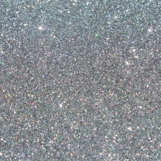 Глиттер серебро, 20 мл, 10 грамм, ТМ Курдибановская