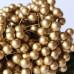 Глянцевые ягоды (калина), 1 веточка, 2 ягодки, 1 см, золотого цвета