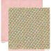 Двусторонняя скрапбумага Random - Curtains от Crate Paper