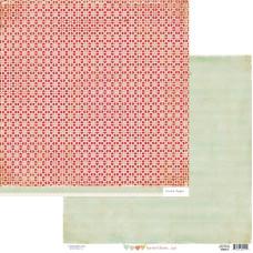 Двусторонняя скрапбумага Paper Heart - Cupid от Crate Paper