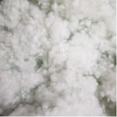 Холлофайбер 8 мм, вторичный, белый с сероватым оттенком, 50 грамм