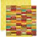 Двусторонняя скрапбумага Farmhouse - Produce от Crate Paper