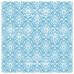 Деко веллум (лист кальки с рисунком) Голубой Дамаск, Фабрика Декору