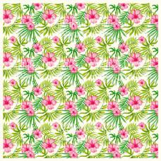 Деко веллум (лист кальки с рисунком) Wild Tropics, Фабрика Декору