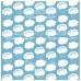 Деко веллум (лист кальки с рисунком) Облака, Фабрика Декору