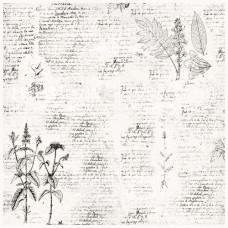 Деко веллум (лист кальки с рисунком) Botany Spring 1, Фабрика Декора