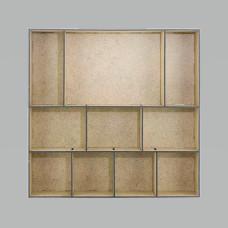 Заготовка для ShadowBox №01, Фабрика Декора