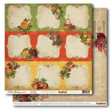Бумага для скрапбукинга Готовим Дома Кулинарная книга, Scrapberry's