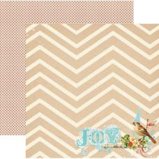Двусторонняя бумага Joy 30x30 см от My Mind's Eye