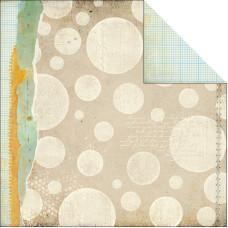 Двусторонняя бумага Drafting Table 30x30 см от Basic Grey