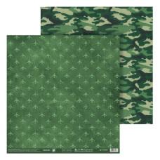 Бумага для скрапбукинга, Только вперёд!, 30,5×32 см, 180 г/м 4166476, АртУзор