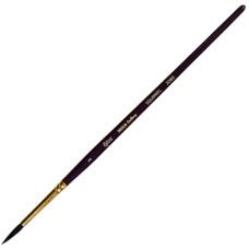 Белка круглая, 2080, № 3, короткая ручка, кисть, Rosa Gallery