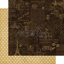 Двусторонняя бумага Montage, French Country, 30х30 см от Graphic 45