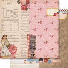 Бумага для скрапбукинга Collage 30х30 см от Ruby Rock-It