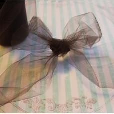 Декоративная сетка (фатин) коричневого цвета от Falk, ширина 14 см, длина 90 см