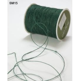 Джутовый шнур тонкий String Burlap Green от May Arts, 5 м