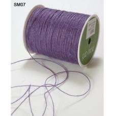 Джутовый шнур тонкий String Burlap Purple от May Arts, 5 м