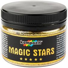 Глиттер MAGIC STARS Kompozit (золото, 60 г), ART Kompozit
