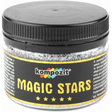 Глиттер MAGIC STARS Kompozit (бриллиант, 60 г), ART Kompozit