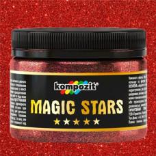 Глиттер, Magic Stars, Kompozit, рубин, 60 г, Art Kompozit