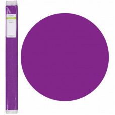 Бумага креповая, Светло-фиолетовый, 50 * 250см, 32г / м2, Heyda