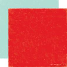 Двусторонний лист бумаги Strawberry/Sky 30x30 cм от Echo Park