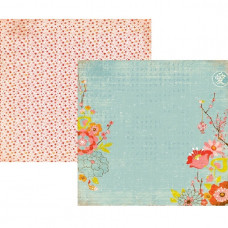 Двусторонняя бумага Koi Pond от BasicGrey, 30x30 см