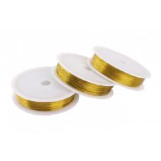 Проволока, золото, 0,3 мм, 50м