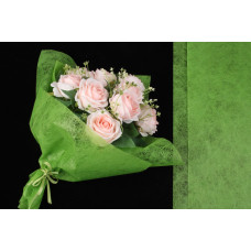 Бумага флизелиновая, сизофлор, салатовая, 70х50см