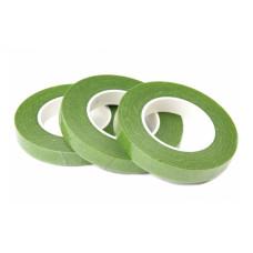 Флористическая тейп-лента, зеленый, 1 рулон 27м, 12 мм