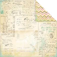 Двусторонняя бумага Handwritten 30х30 см от Heidi Swapp