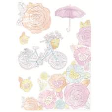Набор высечек Pink Gelato 21х15 см от Kaisercraft