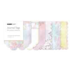 Набор тегов для журналинга Pink Gelato от Kaisercraft, 24 шт