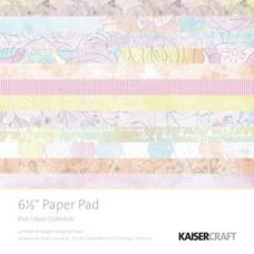 Набор бумаги Pink Gelato 16х16 см 40 листов от Kaisercraft