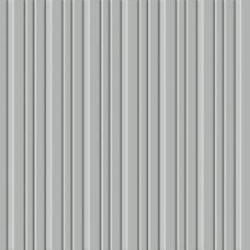 Бумага для скрапбукинга с тиснением Stripe/Silver Grey 30х30 см от Ruby Rock-it