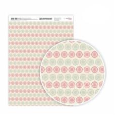 Бумага дизайнерская односторонняя Моменты нежности 1, 21х29,7 см, глянцевый, 250 г / м2, ROSA TALENT